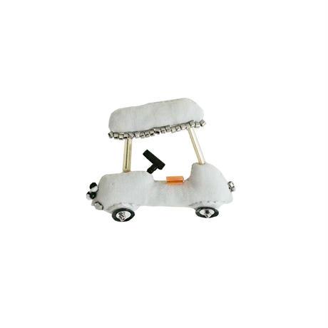 Miniature Golf Cart Brooch