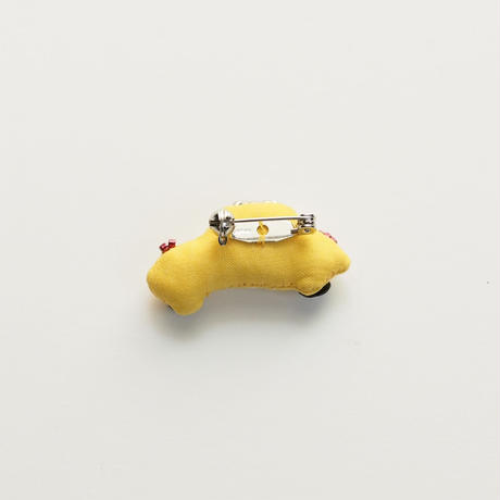 Miniature Taxi Brooch