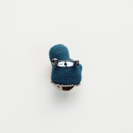 Miniature Dog Food Brooch