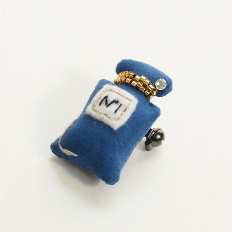 Miniature Perfume Brooch(blue)