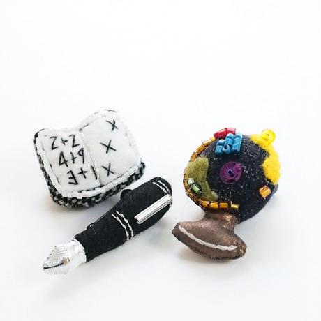 Miniature Fountain Pen Brooch
