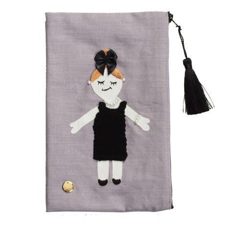 Pouch-Little Black Dress-  (purple)