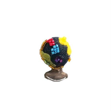 Miniature Globe Brooch