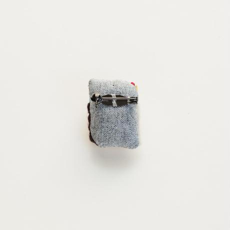 Miniature Matchbox Brooch