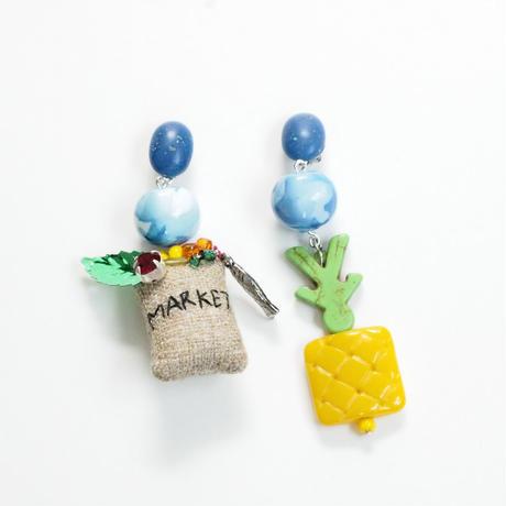 Grocery Bag×Pineapple Pierce