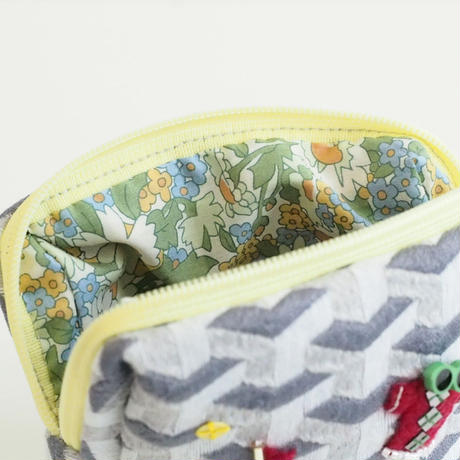 Miniature Pouch(geometric pattern)