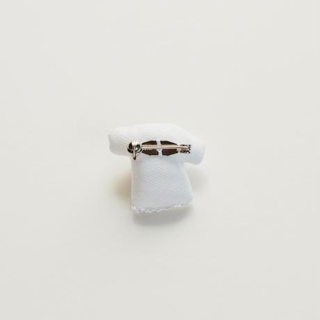 Miniature T-shirt Brooch(flower)