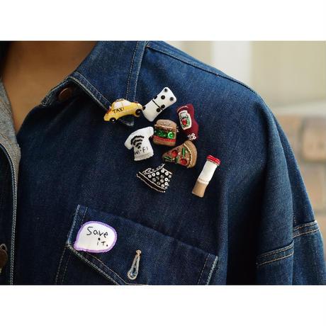 Miniature T-shirt Brooch(wi-fi)