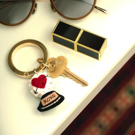 Snow Globe Key Ring(Heart)