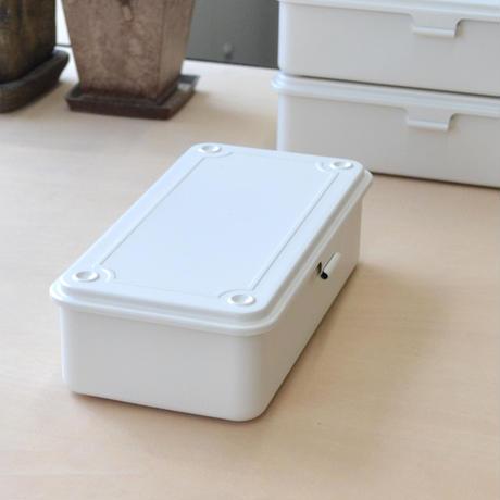 スチール製 道具箱 ホワイト