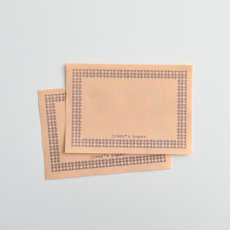 jimmy's paper ラベルペーパー オレンジ [mittzell]