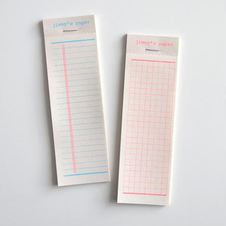 jimmy's paper チケットパッド 2001 [mittzell]