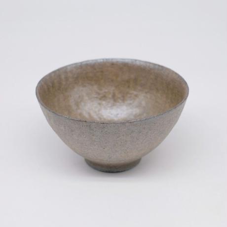 井内 素 / 飯碗・グレー (実物写真975)