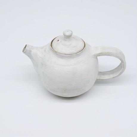 比地岡 陽子 / 粉引ポット/ fog (実物写真707)