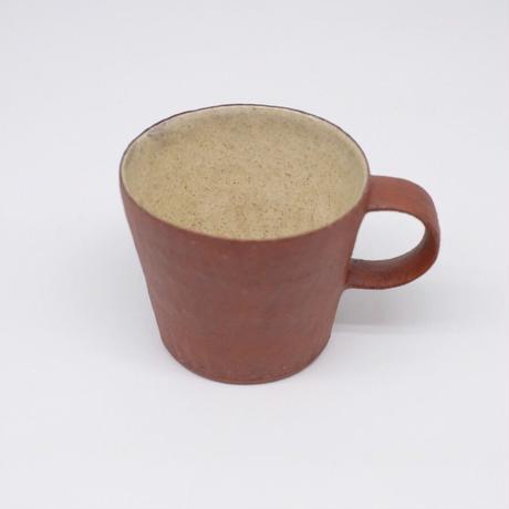 井内 素 / マグカップ・赤(実物写真974)
