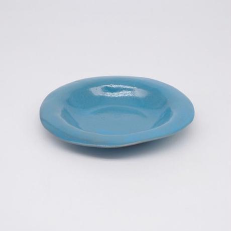 teto ceramic / リムプレート・小・モロッコブルー(実物写真1080)