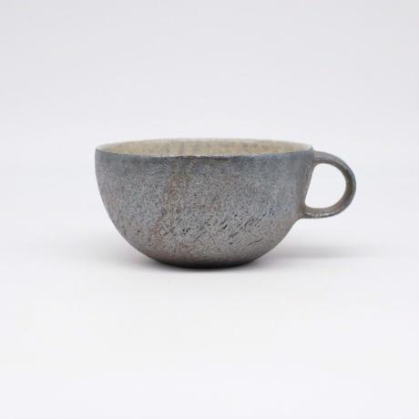 井内 素 / スープカップ・黒(実物写真1059)
