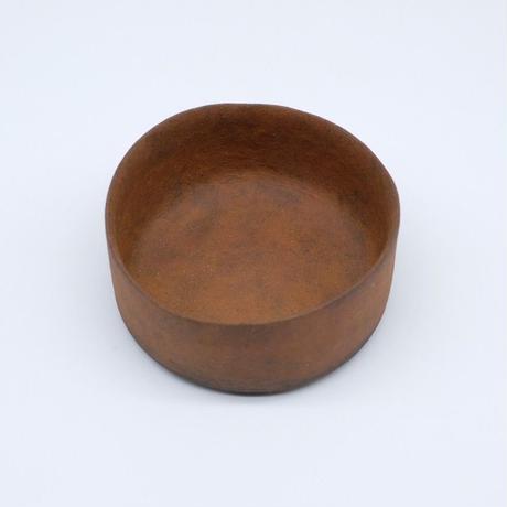 高田かえ / 茶土ドラ鉢・小 (実物写真211)