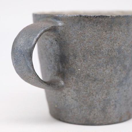 井内 素 / マグカップ・黒(実物写真984)