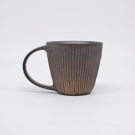 鈴木 進 / 金彩しのぎマグカップ (実物写真913)