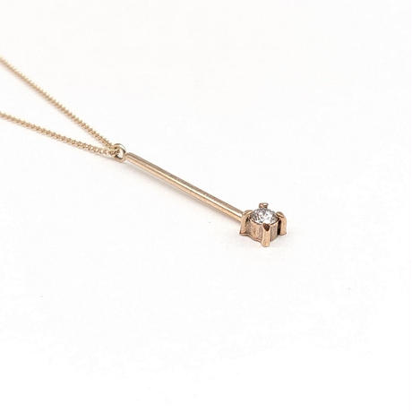 y.h.a accessories / K10 ネックレス(Straight-dia)