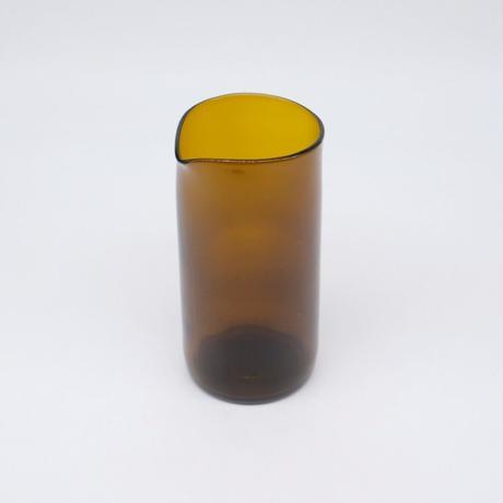 F/style(エフスタイル) / 再生ビンのビーカー・3合・ブラウン(実物写真958)
