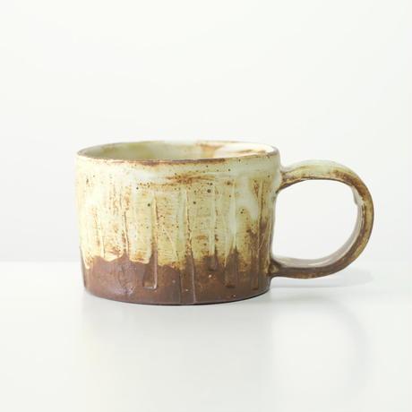 比地岡 陽子 木立ちのマグカップ