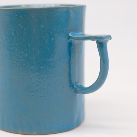 teto ceramic / マグ・大・モロッコブルー (実物写真801)