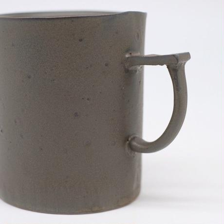 teto ceramic / マグ・大・錆鉄釉薬 (実物写真802)