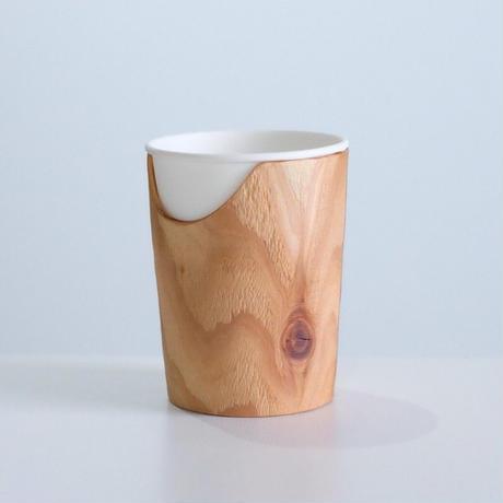 FUQUGI 木製カップホルダー (実物写真) 11