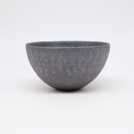 井内 素 / ボウル・黒 (実物写真947)