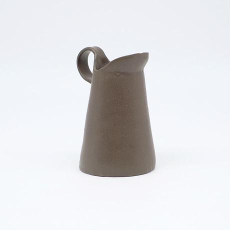 teto ceramic / ピッチャー・小・錆鉄 (実物写真819)