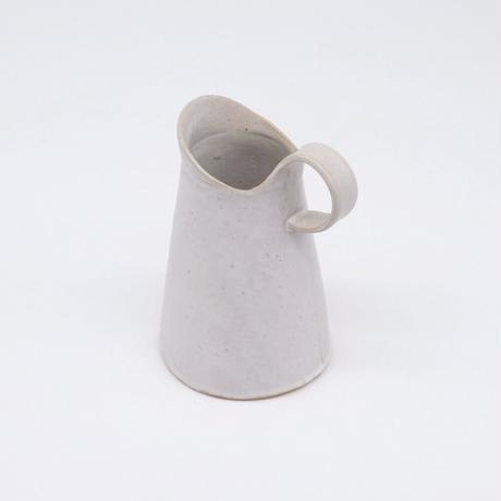 teto ceramic /  ピッチャー小・白マット(実物写真790)