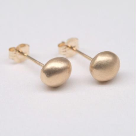 y.h.a accessories / K10 ピアス・  Gold Pearl/S(実物写真854)