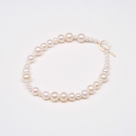 y.h.a accessories / ブレスレット / 淡水パール・K10 (実物写真866)