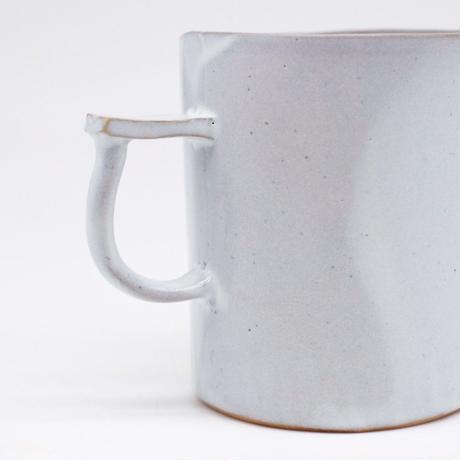 teto ceramic / マグ・大・白透明釉薬 (実物写真233)
