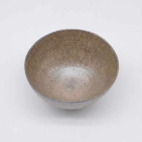 井内 素 / 飯碗・グレー (実物写真943)