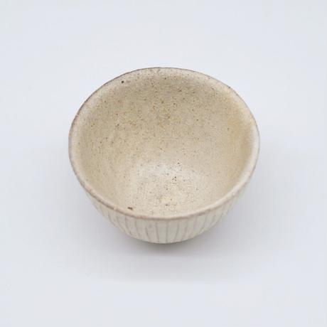 鈴木 進 / 粉引線紋湯のみ(実物写真692)