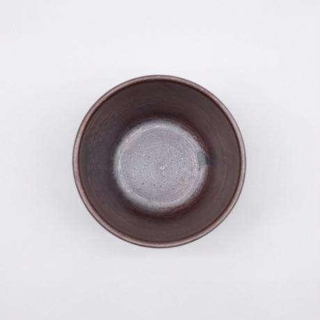 比地岡 陽子 / 銀彩釉 面取りそば猪口 (実物写真121)