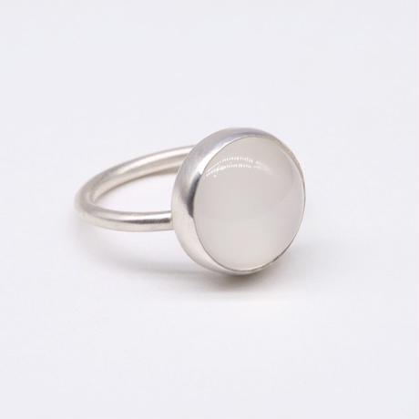 y.h.a accessories / リング/ Silver・ムーンストーンΦ12 /11号 (実物写真860)