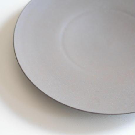 炻器plate L  グレー
