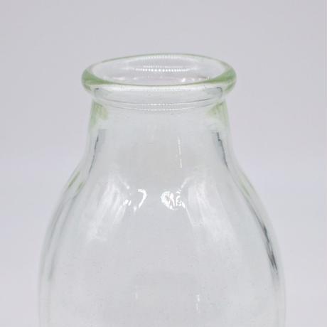 森永 豊 / 台付モールド花瓶・大・透明(実物写真344)