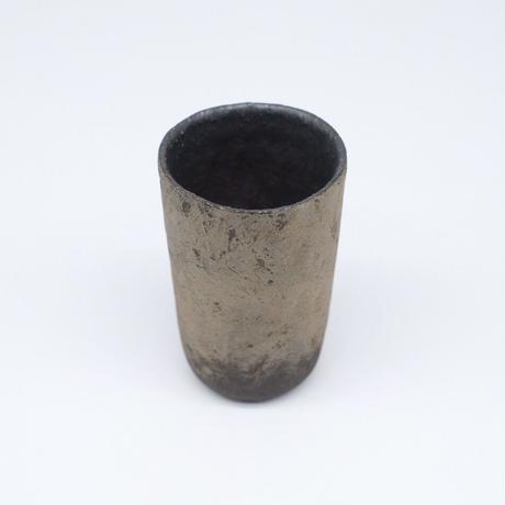 高田かえ / グレー土釉薬 カップ(実物写真534)