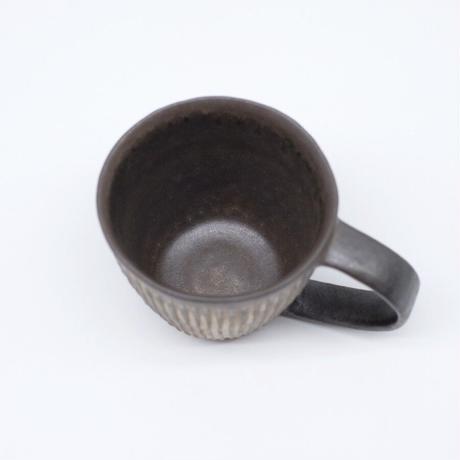 鈴木 進 / 金彩しのぎマグカップ (実物写真962)