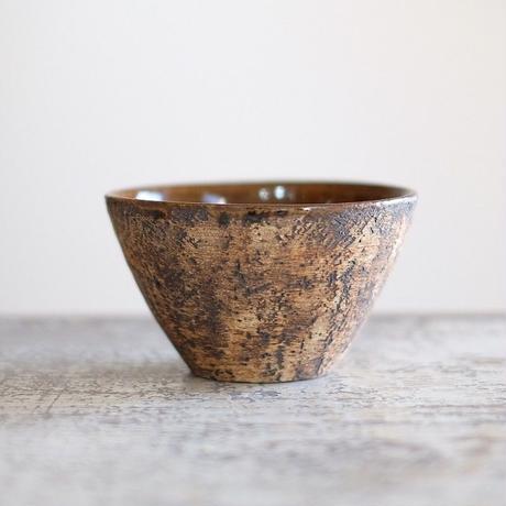 螢松窯 森のフリーカップ(飴釉)