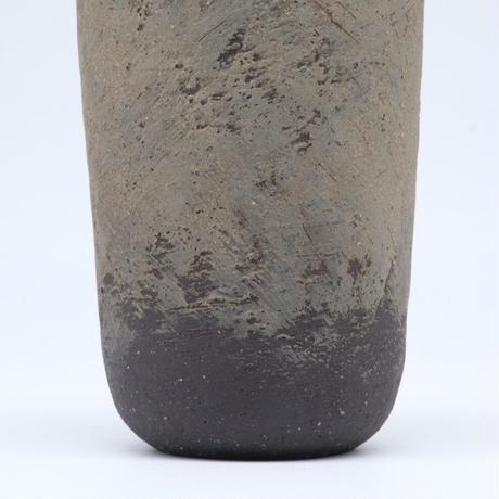 高田かえ / グレー土釉薬 カップ(実物写真540)