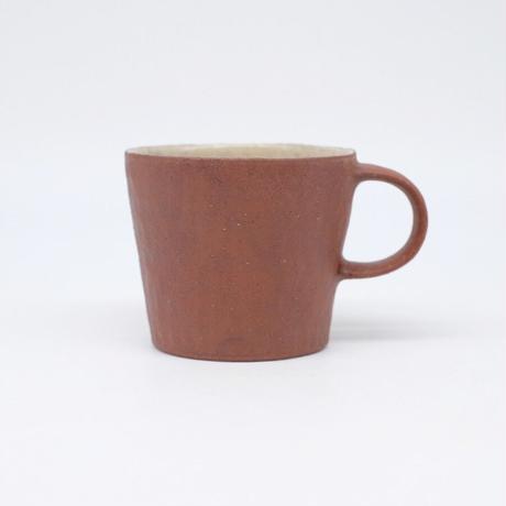 井内 素 / マグカップ・赤(実物写真964)
