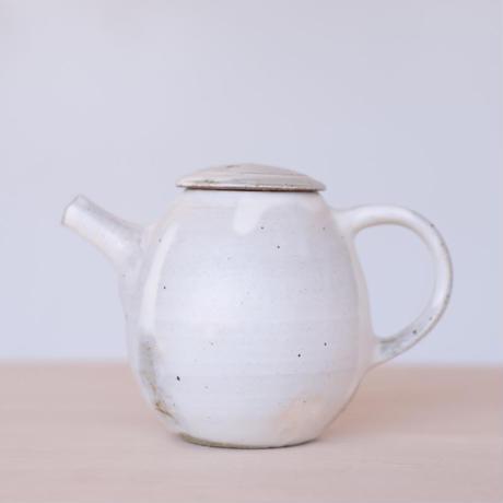 螢松窯 粉引ポット2(現品写真)