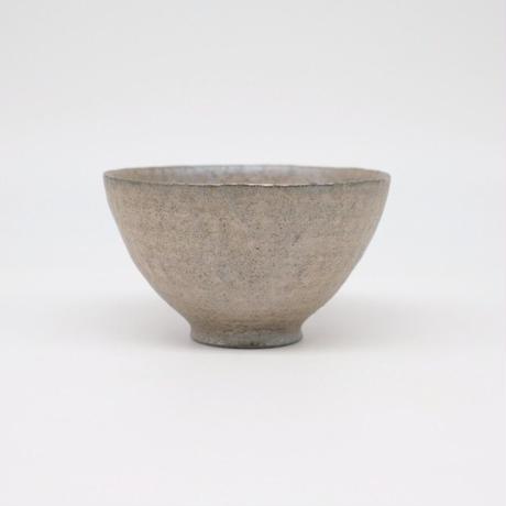 井内 素 / 飯碗・グレー (実物写真972)