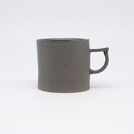 teto ceramic / マグ・小・錆鉄釉薬 (実物写真806)
